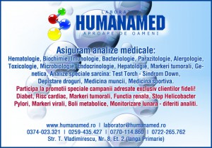 Analize medicale de laborator in Oradea-Humanamed