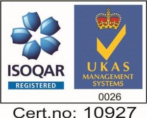 logo ISO pentru laborator analize medicale Oradea-Humanamed