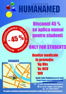 A6-  01 IUNIE 2014 Flyer A6 HUMANAMED_analize gratis